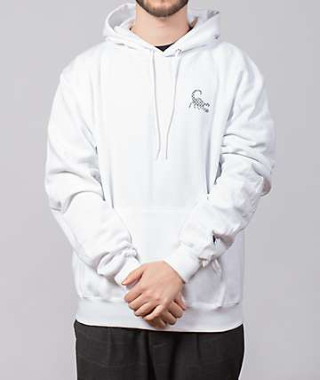 EHLIFE Chainlink Sting White & Black Hoodie