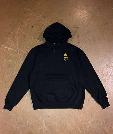 EHLIFE Crown Vic Emblem Black Hoodie