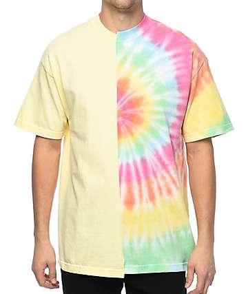 EPTM. 50-50 camiseta con efecto tie dye