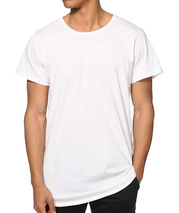 EPTM. Basic Drop Tail Long T-Shirt