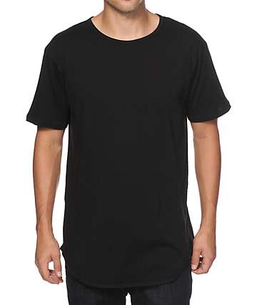 EPTM. Basic camiseta alargada con cola caída