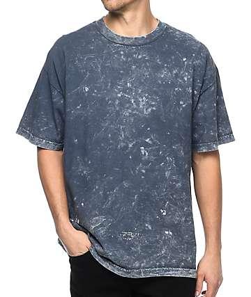 EPTM. Black Mineral Washed Boxy T-Shirt