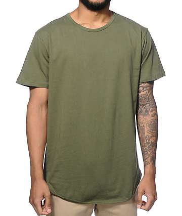 EPTM. Elongated Basic Long T-Shirt
