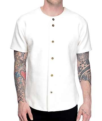 EPTM. Jersey de béisbol de ante en color crema