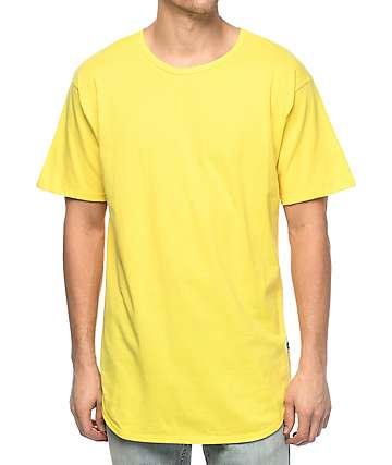 EPTM. OG camiseta alargada en color amarillo