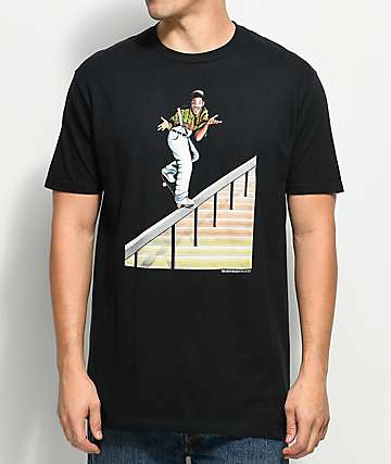 EVERYBODY Skates Fresh Pinch Black T-Shirt