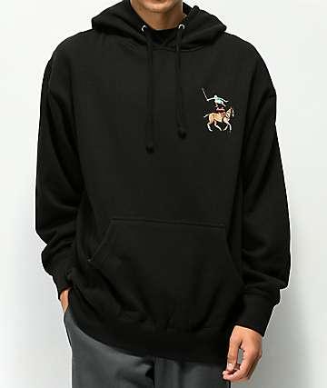 EVERYBODY Skates Leaper Black Hoodie
