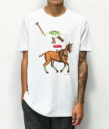 EVERYBODY Skates Leaper White T-Shirt