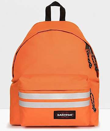 Eastpak Padded Pak'r Orange Reflective Backpack