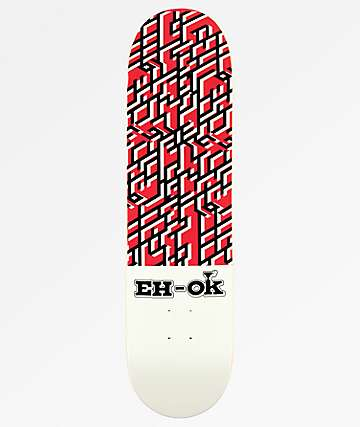"Eh-Ok Crunch 8.0"" Skateboard Deck"