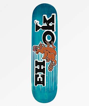 "Eh-Ok Speedy Logo 8.25"" Blue Skateboard Deck"
