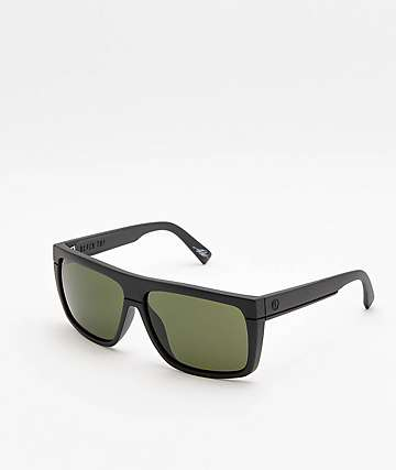 Electric Black Top Matte Black & Grey Sunglasses