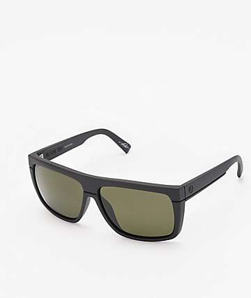 Electric Black Top Matte Black Polarized Sunglasses