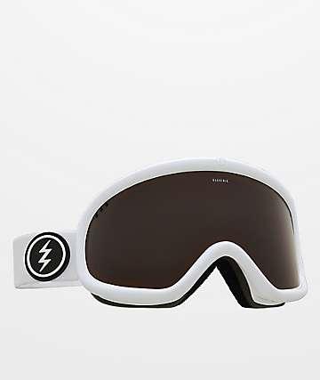 Electric Charger Brose gafas de snowboard blancas