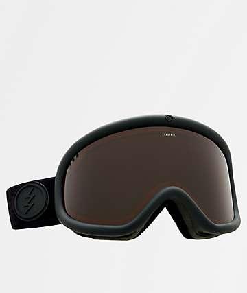 Electric Charger Brose gafas de snowboard en negro mate