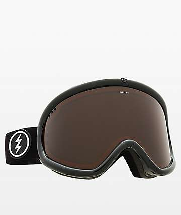 Electric Charger XL Dark Tourist Silver Chrome Snowboard Goggles