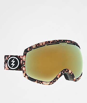 Electric EG2 Bleacher Gold Chrome Snowboard Goggles