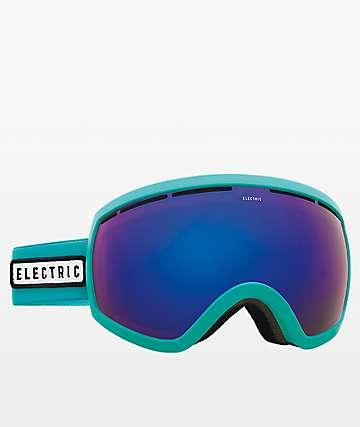Electric EG2.5 gafas de snowboard de cromo azul y turquesa