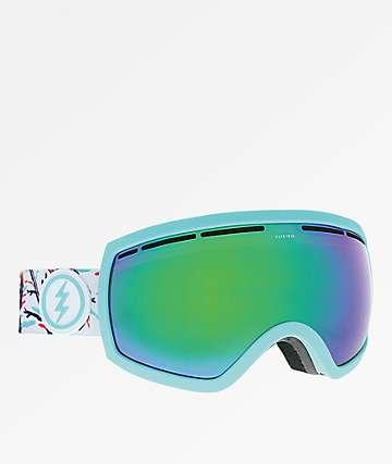 Electric EG2.5 gafas de snowboard de cromo verde