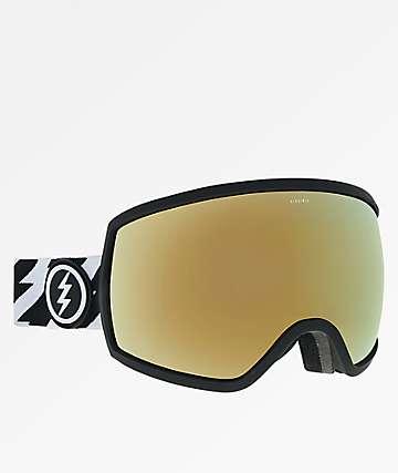 Electric Egg Volt gafas de snowboard de cromo oro