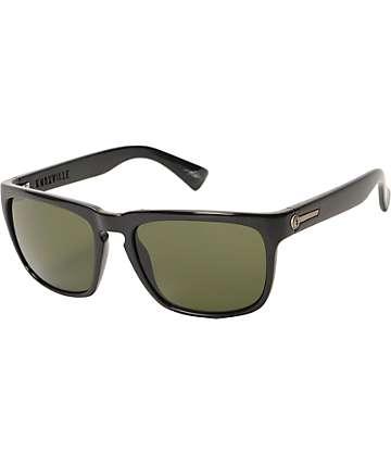 Electric Knoxville gafas de sol en negro brilloso y gris