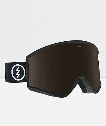 Electric Marcus Kleveland Black Brose & Silver Snowboard Goggles