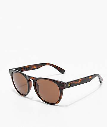 Electric Nashville XL Gloss Tortoise & Bronze Sunglasses