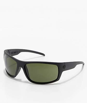 Electric Tech One XL Matte Black & Grey Sunglasses