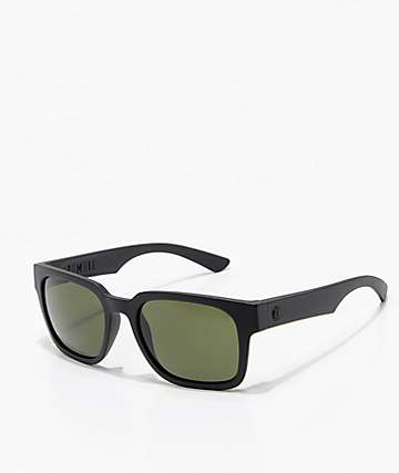 Electric Zombie Matte Black & Grey Sunglasses
