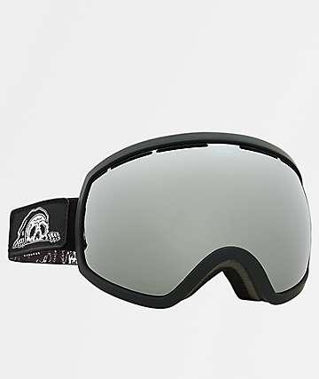 Electric x Sketchy Tank EG2 gafas de snowboard de cromo y negro