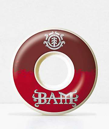Element Bam 52mm Skateboard Wheels