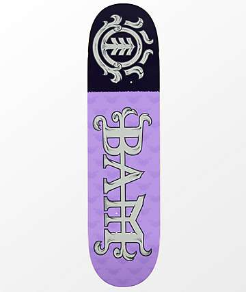 "Element Bam Margera 8.0"" Purple Skateboard Deck"