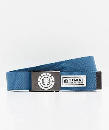Element Beyond cinturón azul de acero