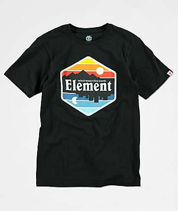 Element Boys Dusk Black T-Shirt