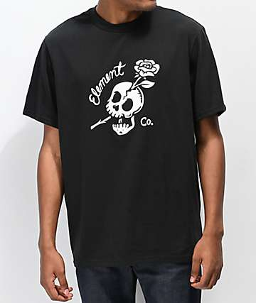 Element Break Free Black T-Shirt