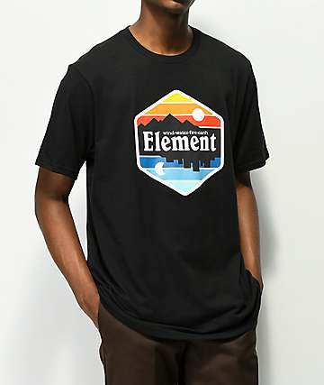 Element Dusk camiseta negra