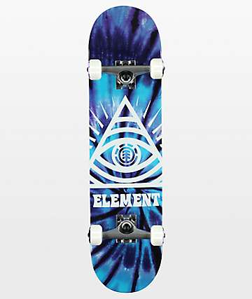 "Element Dye Trippin 7.75"" Skateboard Complete"