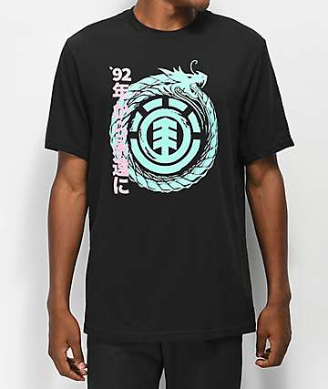 Element Eternal Dragon camiseta negra