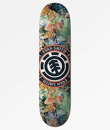 "Element Evan Smith Floral Seal 8.31"" Skateboard Deck"