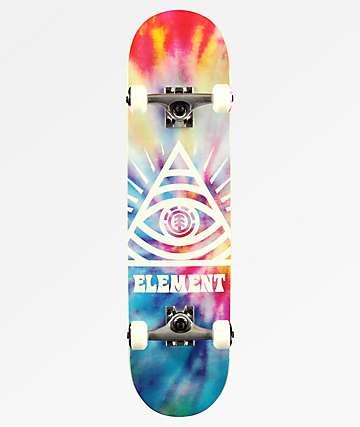 """Element Eye Trippin 7.75"""" Skateboard Complete"""