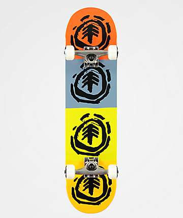 "Element FOS Quadrant 7.75"" Skateboard Complete"