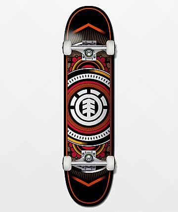 """Element Hatched 8.0"""" Skateboard Complete"""