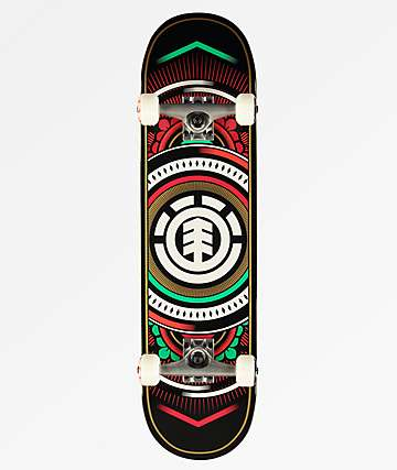 "Element Hatched North Light 8.0"" Skateboard Complete"