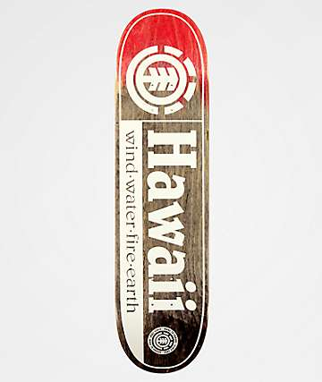 "Element Hawaii 8.0"" Skateboard Deck"