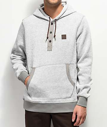 Element Heather Highland Henley Hoodie