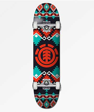 "Element Indigena 7.7"" Skateboard Complete"