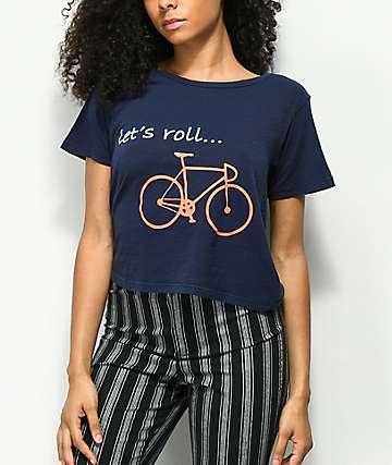 Element Let's Roll camiseta azul marino