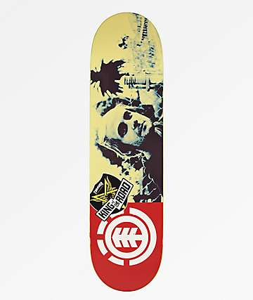 "Element Madars Head KOTR 8.25"" Skateboard Deck"