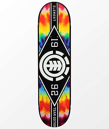 "Element Major League Tie Dye 8.25"" Skateboard Deck"