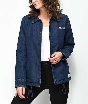 Element Melody Plus Denim Coaches Jacket